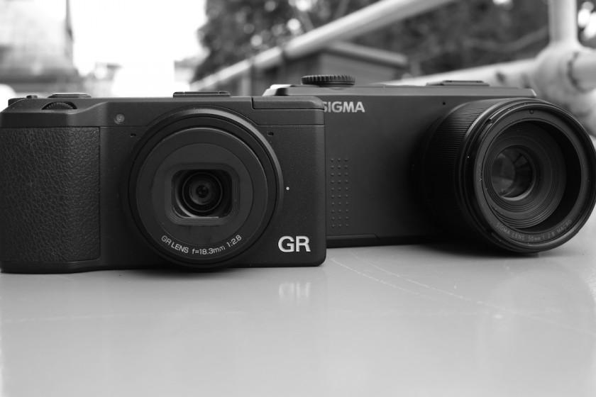 Ricoh GR und Sigma DP3M